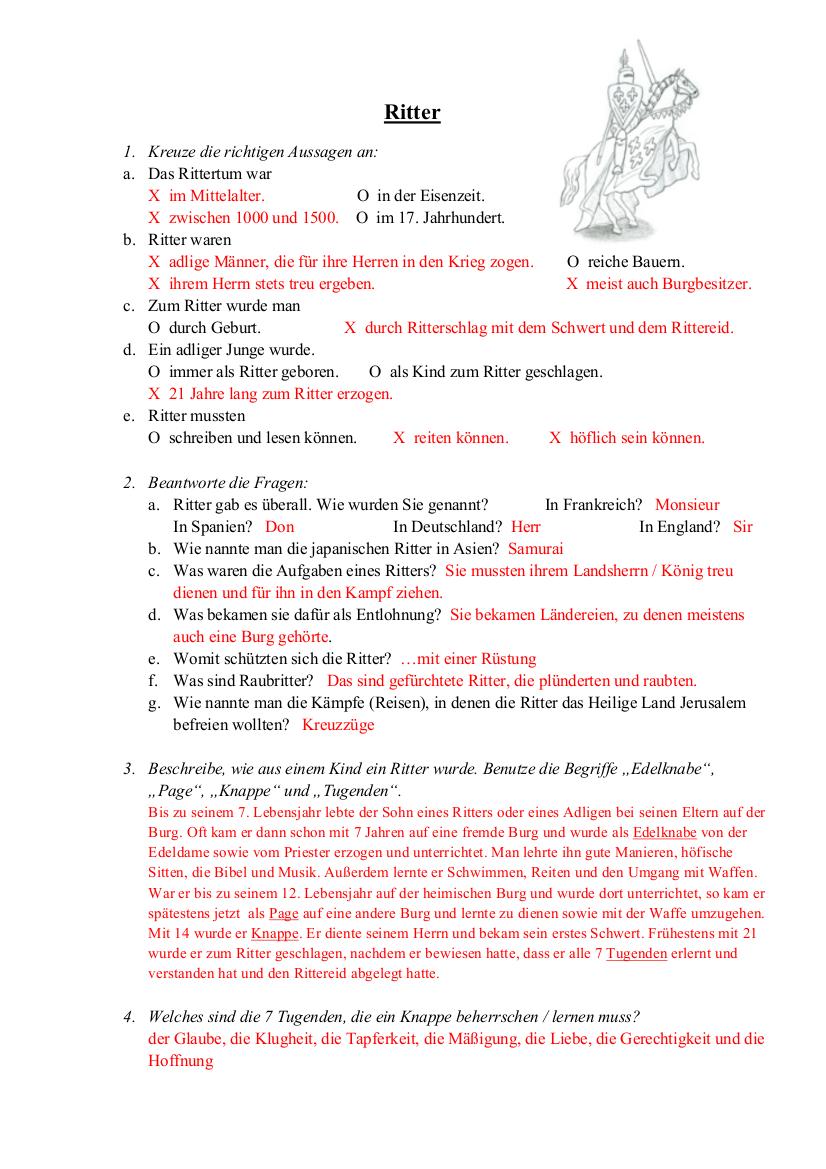 Arbeitsblätter Sachunterricht Grundschule